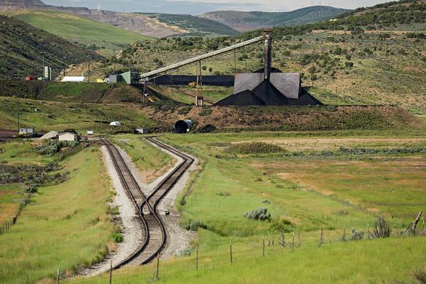 Coal Mining Photograph - Coal Mine Rail-loading Facility by Jim West