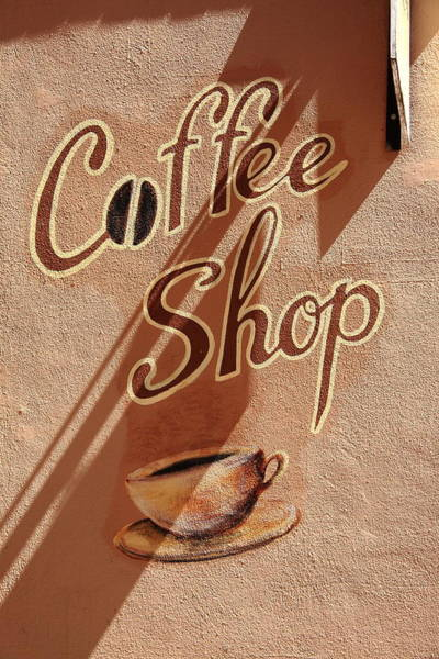 Photograph - Coffee Shop by Frank Romeo