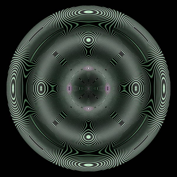 Digital Art - Coils IIi by Visual Artist Frank Bonilla