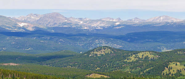 Photograph - Colorado Continental Divide 5 Part Panorama 4 by James BO Insogna