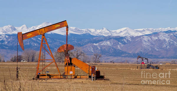 Photograph - Colorado Oil Well Panorama by James BO Insogna