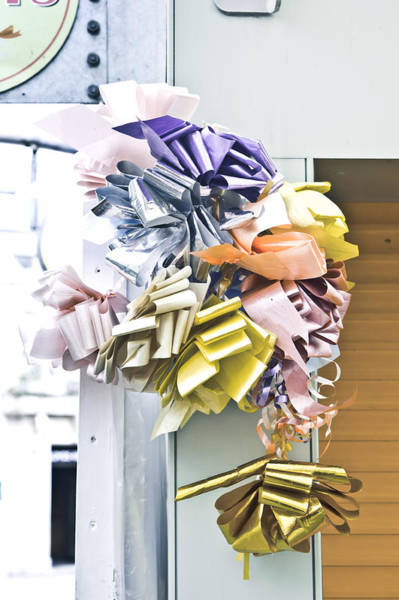 Wall Art - Photograph - Colorful Ribbons by Tom Gowanlock