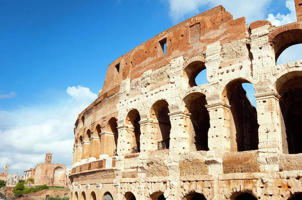 Amphitheater Wall Art - Photograph - Colosseum Or Flavian Amphitheatre by Nico Tondini