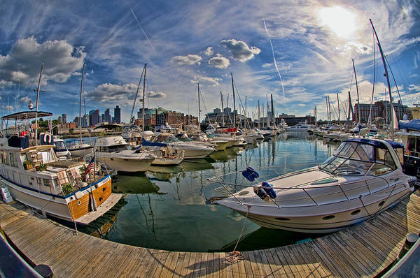 Photograph - Constitution Marina-boston by Joann Vitali