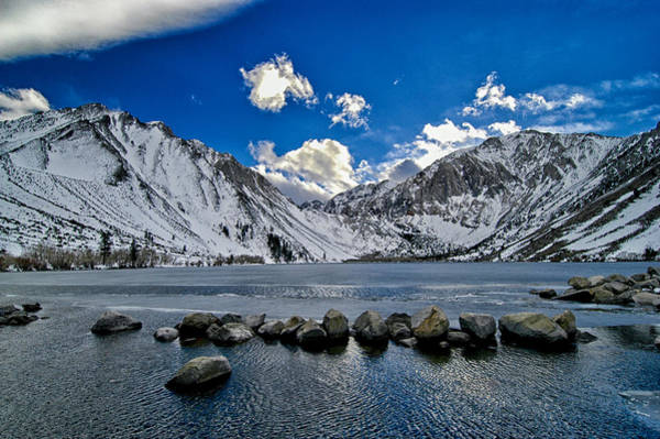 Eastern Sierra Photograph - Convict Lake by Cat Connor
