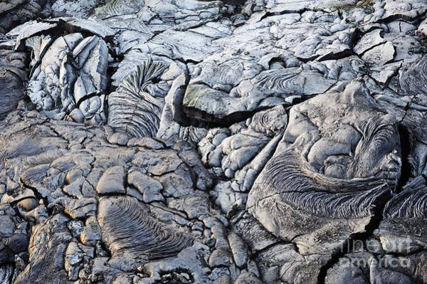 Wall Art - Photograph - Cooled Pahoehoe Lava Flow by Sami Sarkis