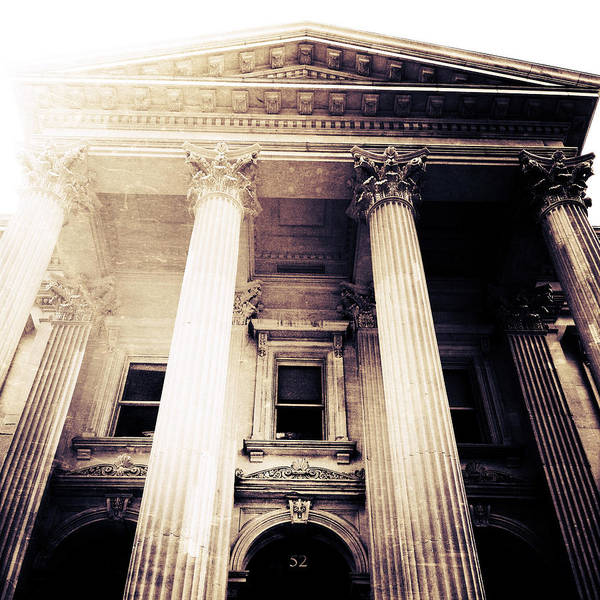 Greek Revival Architecture Photograph - Corinthian Columns by Natasha Marco