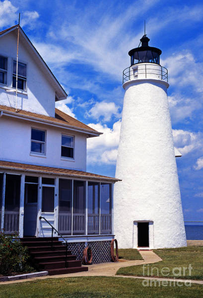 Photograph - Cove Point Lighthouse by Thomas R Fletcher
