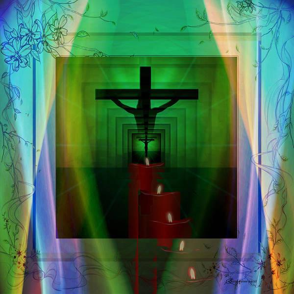 Mixed Media - Cross by Ericamaxine Price