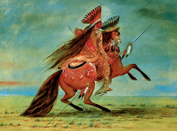 Wall Art - Photograph - Crow Chief by George Catlin