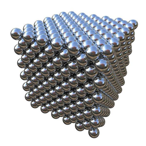 Fuel Element Photograph - Crystal Structure Of Thorium by Russell Kightley