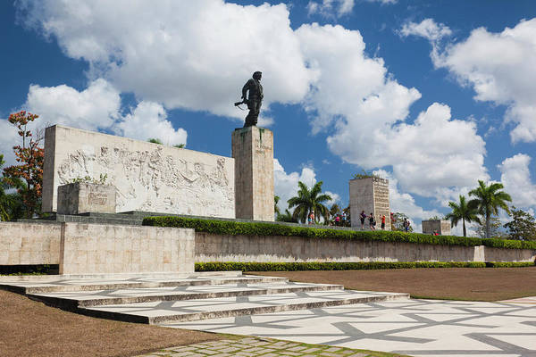 Wall Art - Photograph - Cuba, Santa Clara Province, Santa by Walter Bibikow