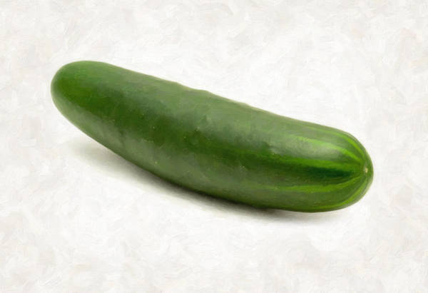 Wall Art - Painting - Cucumber by Danny Smythe