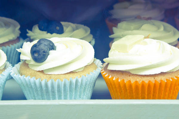 Wall Art - Photograph - Cupcakes by Tom Gowanlock
