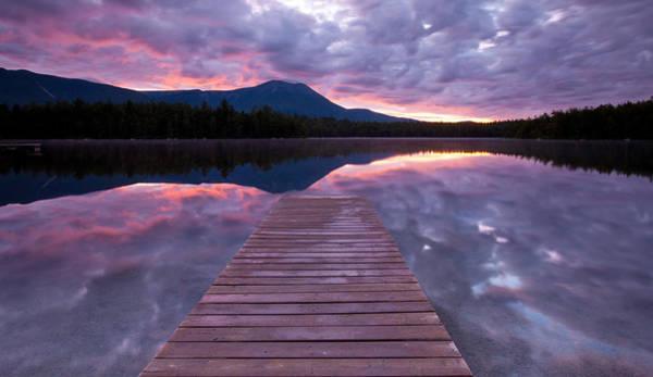 Baxter State Park Photograph - Daicey Pond Sunrise by Patrick Downey