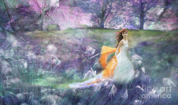Wall Art - Photograph - Dancing On The Meadow by Angel Ciesniarska