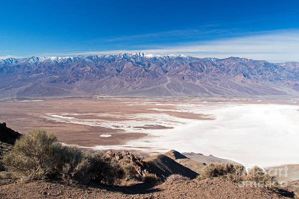 Photograph - Dantes Point Death Valley National Park by Fred Stearns