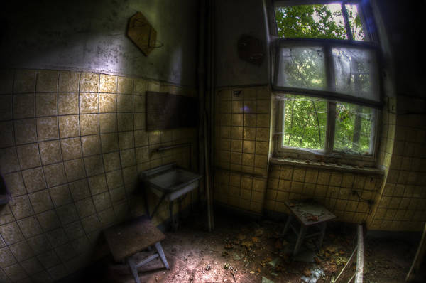 Dilapidation Wall Art - Digital Art - Dark Kitchen  by Nathan Wright