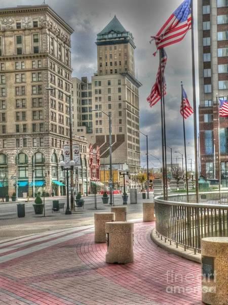 Dayton Photograph - Dayton Ohio by David Bearden