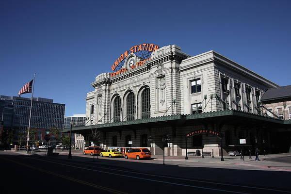 Photograph - Denver - Union Station by Frank Romeo