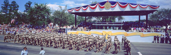 Gi Photograph - Desert Storm Victory Military Parade by Panoramic Images
