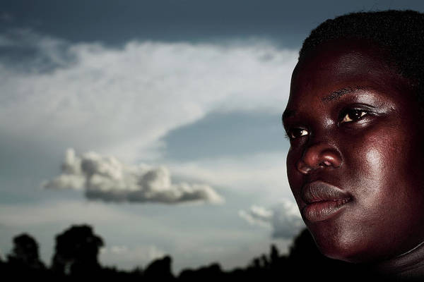 Kidnap Wall Art - Photograph - Displaced Ugandan Teenager by Mauro Fermariello/science Photo Library