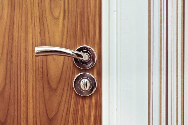 Entry Photograph - Door Handle by Tom Gowanlock