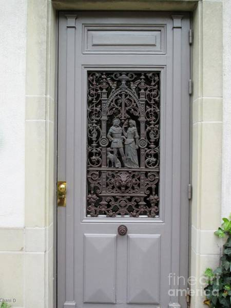 Photograph - Door In Luxembourg by Chani Demuijlder