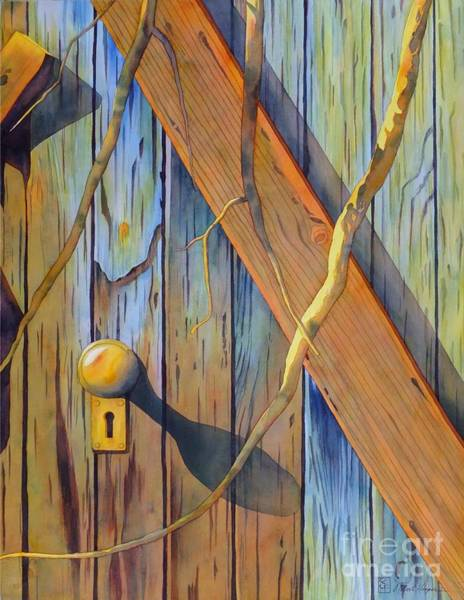 Wall Art - Painting - Door In Skull Valley by Robert Hooper