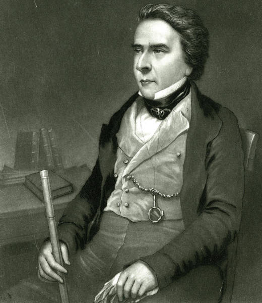 Douglas Drawing - Douglas William Jerrold  English by Mary Evans Picture Library