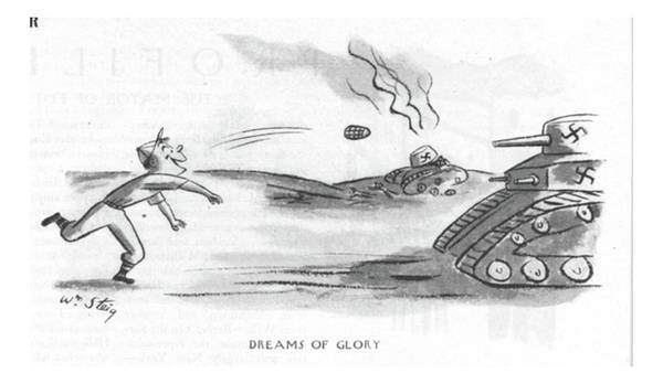 Pitchers Drawing - Dreams Of Glory by William Steig
