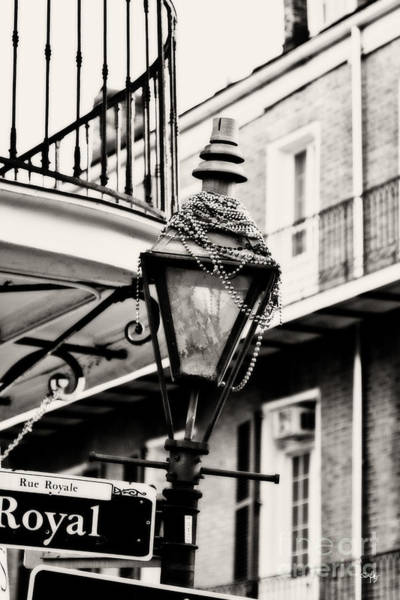 Bourbon Street Wall Art - Photograph - Dressed For The Party - Expresso Toned by Scott Pellegrin