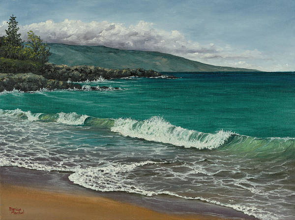 Painting - Dt Fleming Beach by Darice Machel McGuire