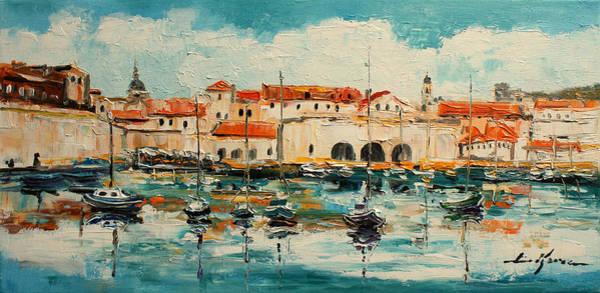 Adriatic Wall Art - Painting - Dubrovnik - Croatia by Luke Karcz