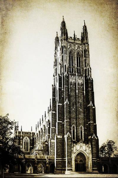 Duke University Photograph - Duke Chapel by Emily Kay