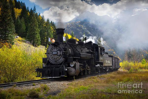 Photograph - Durango-silverton Narrow Gauge Railroad by Inge Johnsson