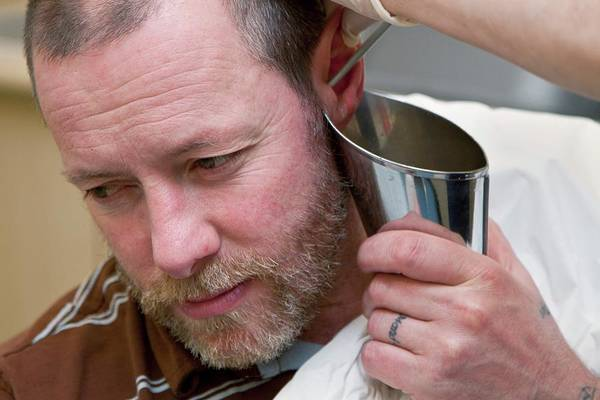 Wall Art - Photograph - Ear Wax Removal by Life In View/science Photo Library
