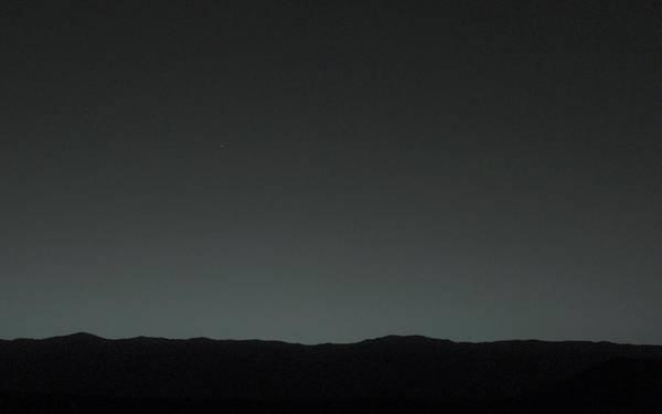Pale Blue Dot Wall Art - Photograph - Earth From Mars by Nasa/jpl-caltech/msss/tamu