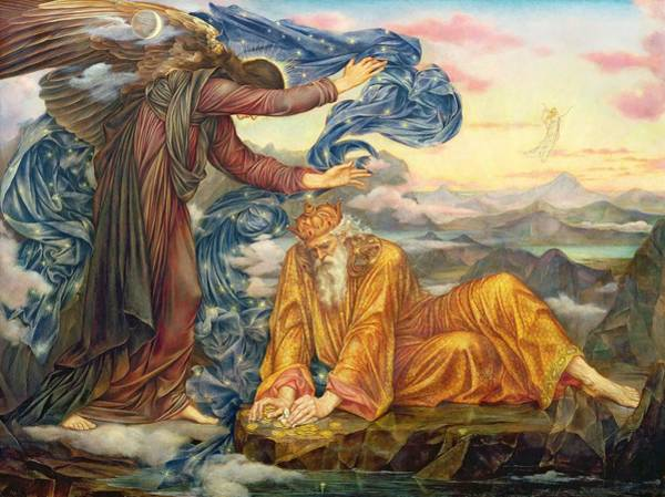 Morality Wall Art - Painting - Earthbound by Evelyn De Morgan