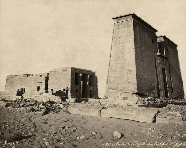 Photograph - Egypt Temple Of Dakka by Granger