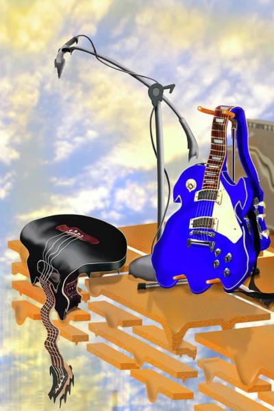 Electric Guitar Wall Art - Photograph - Electrical Meltdown II by Mike McGlothlen