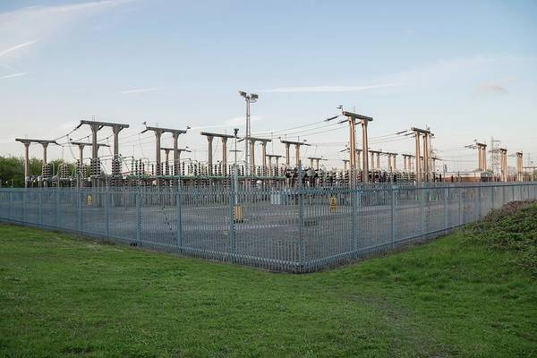 Power Station Wall Art - Photograph - Electricity Substation by Robert Brook