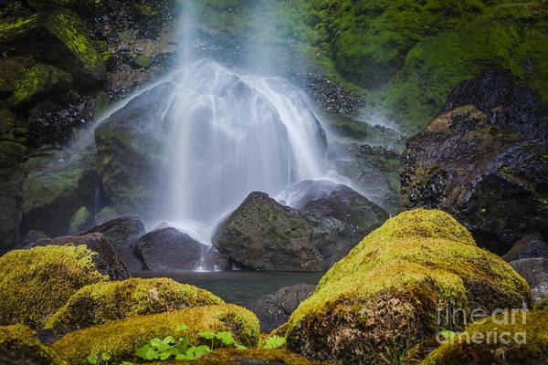 Wall Art - Photograph - Elowah Falls by Brian Jannsen
