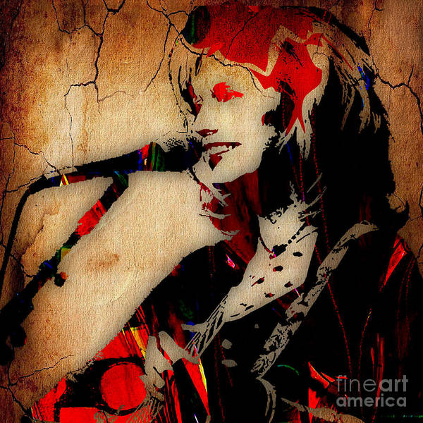 Wall Art - Mixed Media - Emmylou Harris Collection by Marvin Blaine