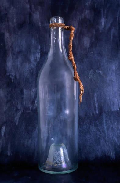 Neck Brace Photograph - Empty Bottle by IB Photography