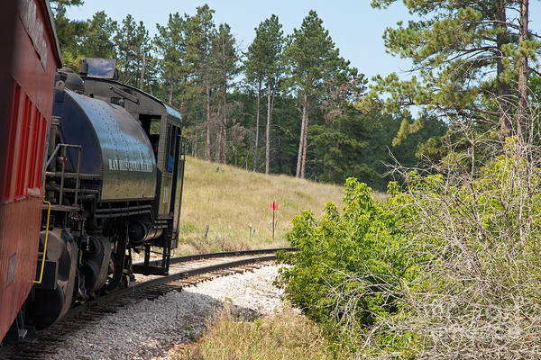 Photograph - Engine 1101880 Train by Fred Stearns