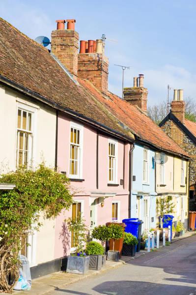 English Cottages Art Print