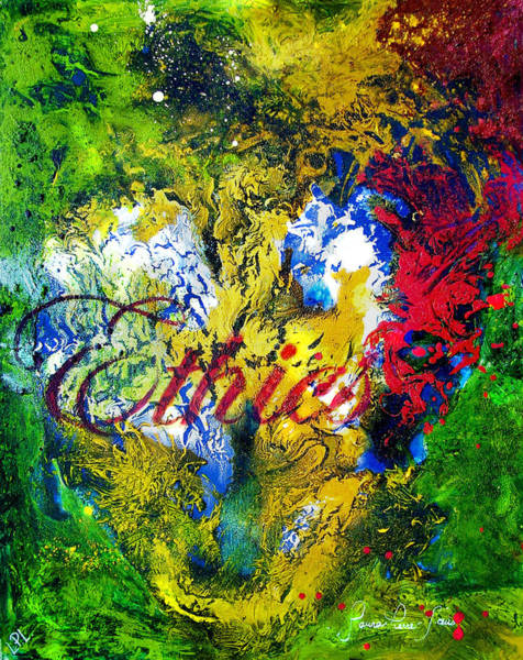 Wall Art - Painting - Ethics by Laura Pierre-Louis