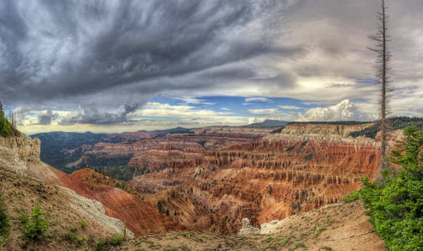 Cedar Breaks Photograph - Eye Of The Storm by Stephen Campbell