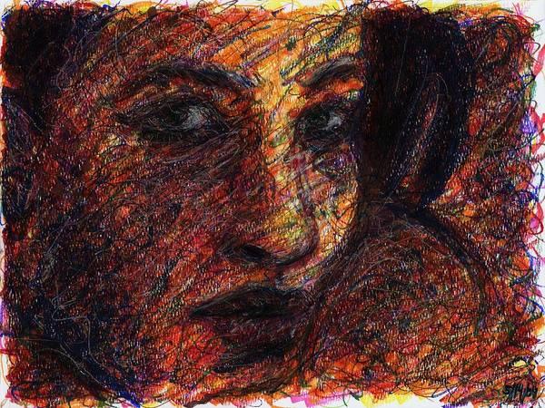 Drawing - Eyes by Rachel Scott
